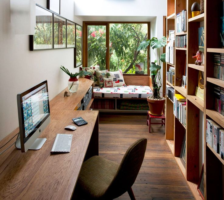 home office ideas eclectic - Google Search