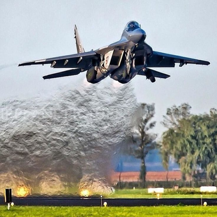 "#Repost @global_air_force  The Mikoyan MiG-29 (Russian: Микоян МиГ-29; NATO reporting name: ""Fulcrum"") is a twin-engine jet fighter aircraft designed in the Soviet Union. Developed by the Mikoyan design bureau as an air superiority fighter during the 1970s the MiG-29 along with the larger Sukhoi Su-27 was developed to counter new American fighters such as the McDonnell Douglas F-15 Eagle and the General Dynamics F-16 Fighting Falcon.The MiG-29 entered service with the Soviet Air Force in…"