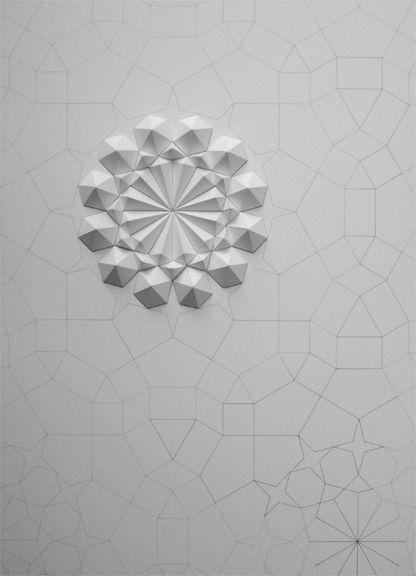 paper sculptures by Matt Shlian