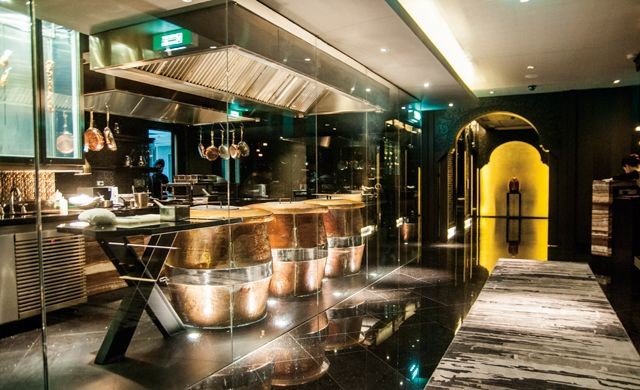 Open Kitchen Design with Tandoor Ovens at Maya Indian Restaurant Bangkok, Sukhumvit 22, Holiday Inn