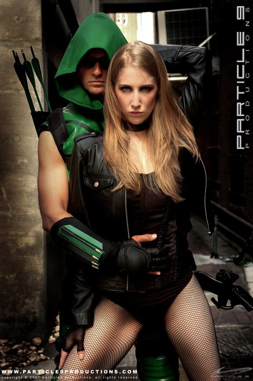 Green Arrow and Black Canary would be a fun couples costume...I would need a blonde wig?? 0_0