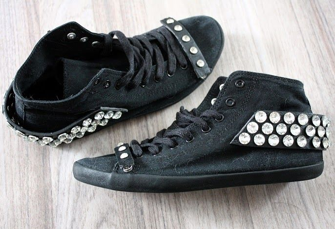Diy diamond shoes