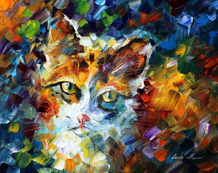 Charming 3 oil painting on canvas by L.Afremov by ... - photo#11