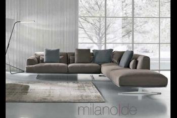 Γωνιακός καναπές Albachiara, Σαλόνια : Καναπέδες,