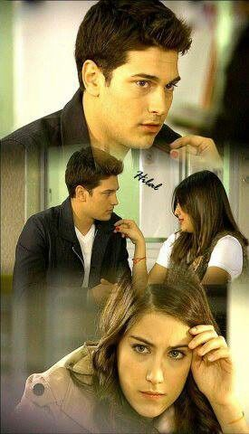 Emir jaelous feriha and feriha was angry to saw emir with another girl