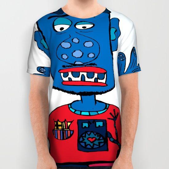 Goalkeeper All over print shirt by JBLITTLEMONSTERS, $34. https://society6.com/product/goalkeeper-3id_all-over-print-shirt?curator=bestreeartdesigns