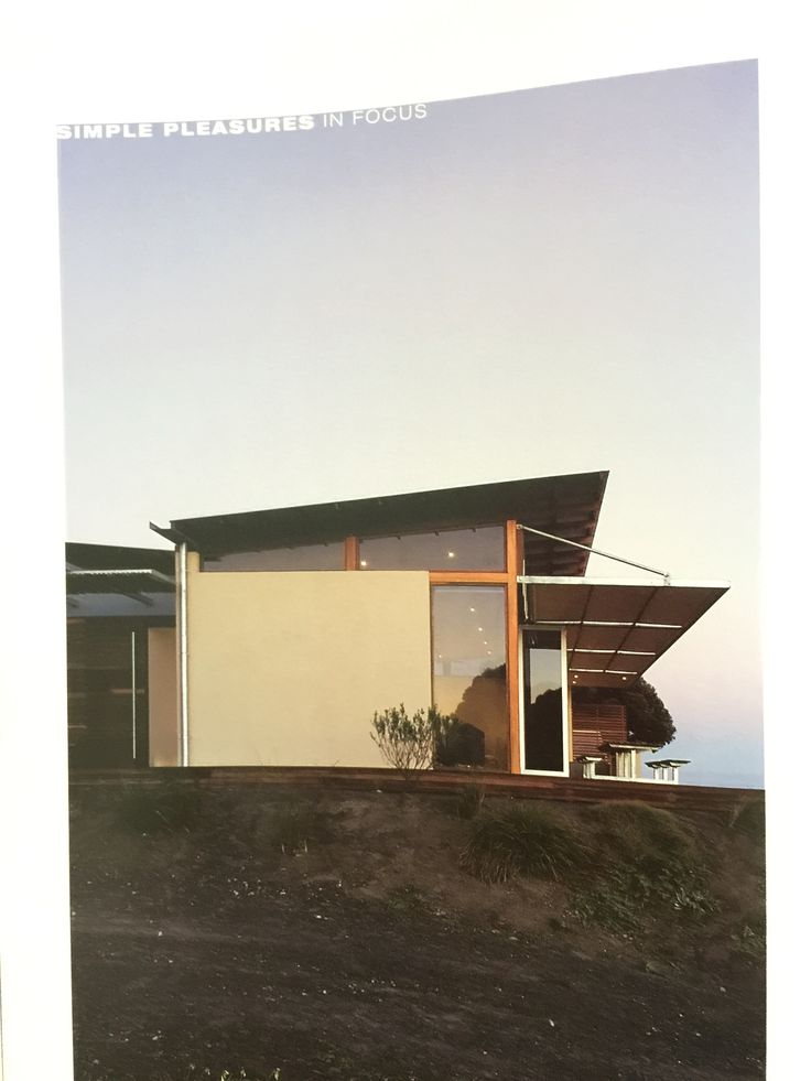 Shed/Skillion roof. Natural light. Aussie beach house vernacular.
