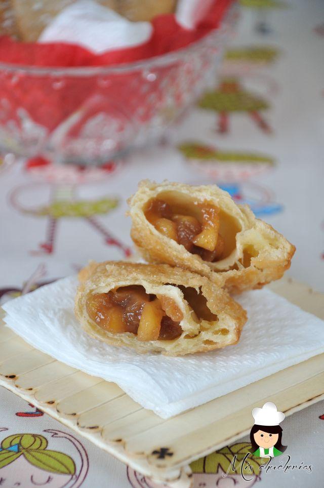 Empanadas de manzana fritas ( Fried Apple Pies)