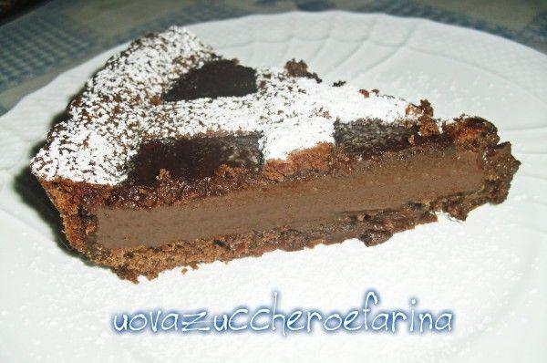 Crostata al cioccolato di Ernst Knam | uovazuccheroefarina