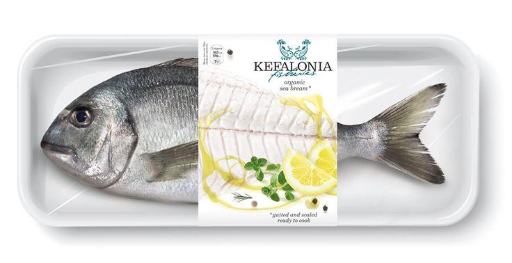 Sea food packaging.