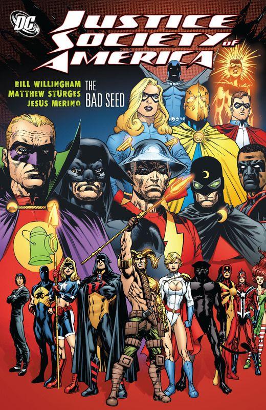 "#Justice #Society #Of #America. (Justice Society of America. Bad Seed, Part Five. ""Split Up"" Vol.3 #33 Cover) By: Jesús Merino. (THE * 5 * STÅR * ÅWARD * OF: * AW YEAH, IT'S MAJOR ÅWESOMENESS!!!™)[THANK Ü 4 PINNING!!!<·><]<©>ÅÅÅ+(OB4E)"