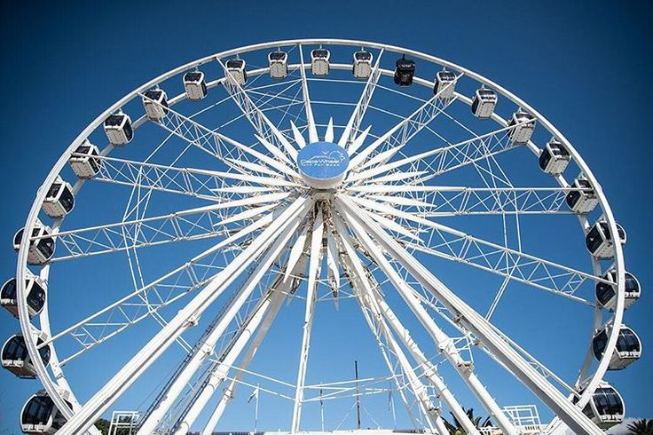 Ferris wheel Cape Wheel Cape Town  #photography #capewheel #wanderlust #travel #southafrica