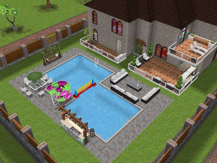 sims template freeplay architect homes