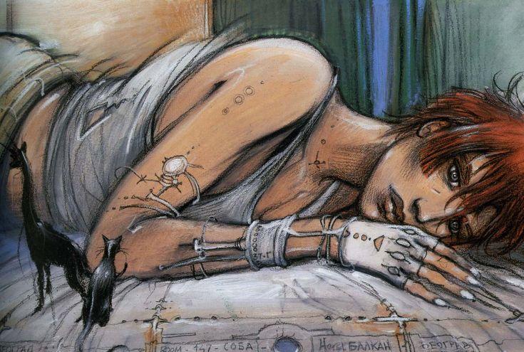 """From """"Rendez vous à Paris"""" by Enki Bilal"""