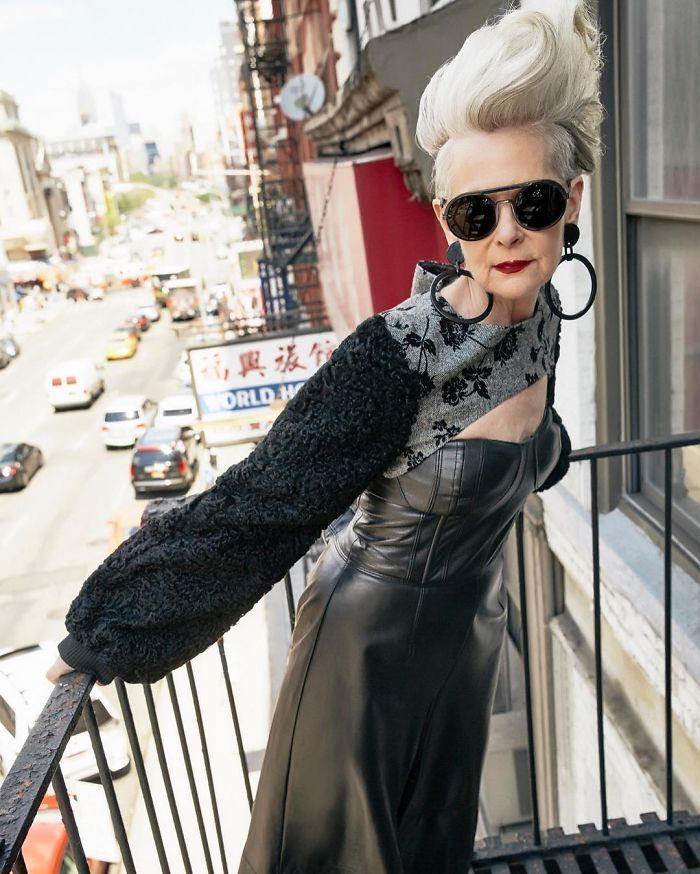 At 63 years old, Lyn Slater is not exactly a typical haute couture model, but that's part of her appeal. She decries age-based discrimination in both the fashion industry and in everyday life, including the tired notion of 'dressing for one's age.'