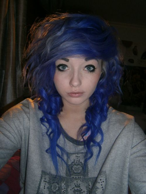 Her hair is probably the most perfect thing I've seen all day.