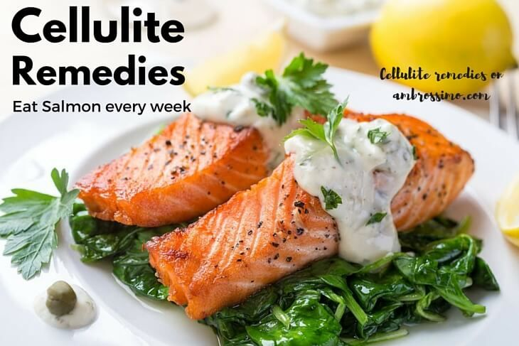 Salmon: How to Get Rid of Cellulite