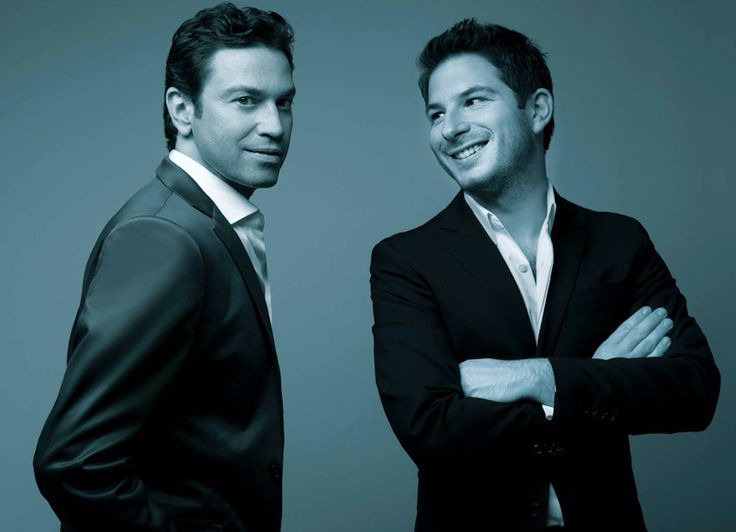 Mario Frangoulis and George Perris, 2016