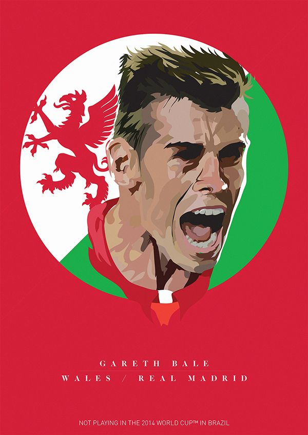 STAY AT HOME XI - Best players missing out the WC by Kareem Gouda, via Behance