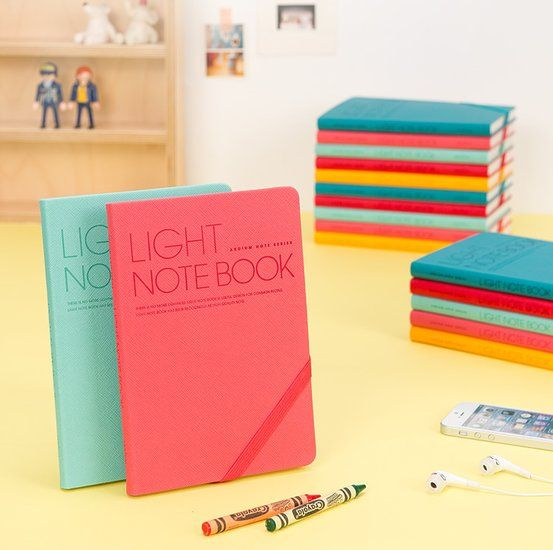 Such cute Light Grid Notebook from mocithings!