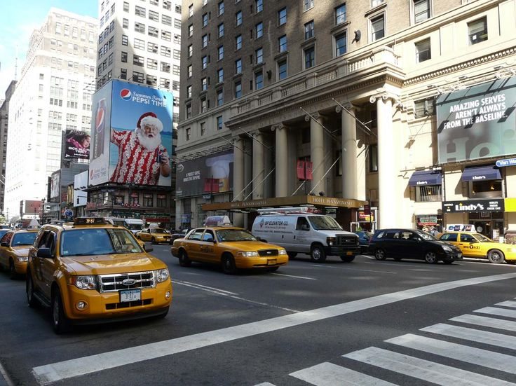 New-York et ses taxis en 2011!