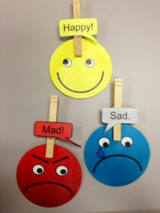 Feelings Faces - emotions and reading! This would be great for kids