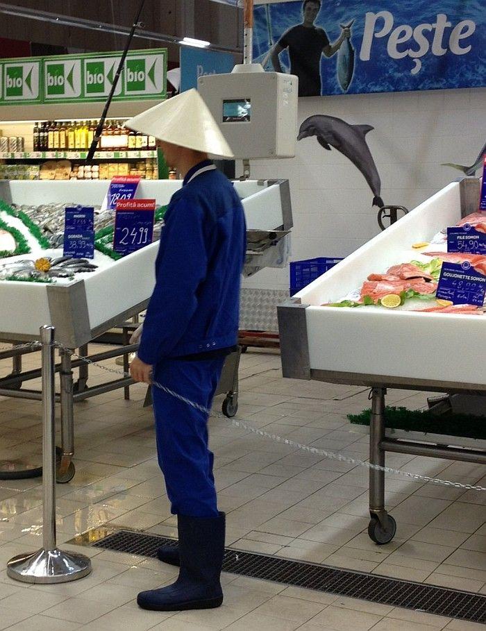 Dacă vă place delfinul, găsiţi la Carrefour