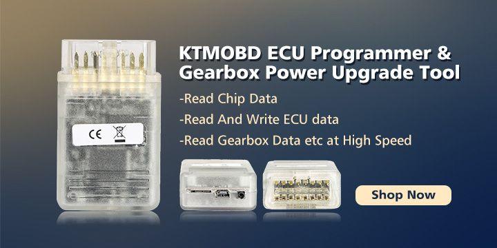 KTM OBD KTMOBD Car ECU Programmer & Gearbox Power Upgrade