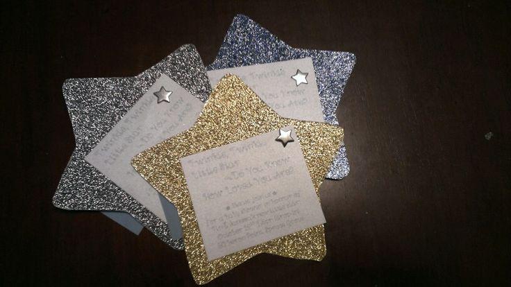 Star Shaped Invitations Twinkle Little Star Pinterest