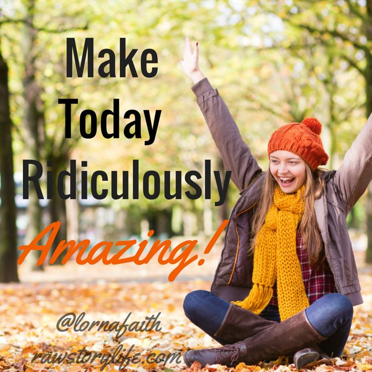 Make a list of all the things you're thankful for! Gratitude helps you see new possibilities♥