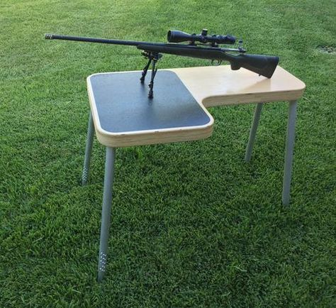 Legacy portable shooting benches are the most stable, portable shooting bench available. Patent pending design offers many unique features in a compact design.