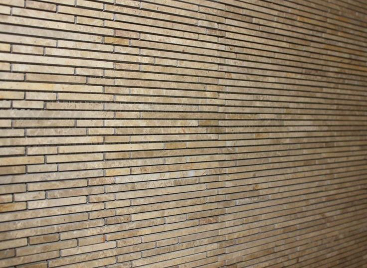 La Crema Bamboo Skinny Travertine Tile From Home Depot