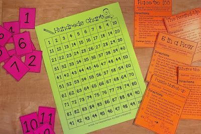 5 Games to Play With a 100s Chart Hi there - Rachael Parlett here from The Classroom Nook. The hundreds chart is one of the most versatile math tools to use in the classroom. I especially love using them for games that help promote number sense. Feel free