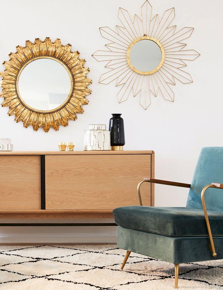 Die besten 25+ Wohnzimmer spiegel Ideen auf Pinterest Wohnzimmer - moderne wohnzimmer pflanzen