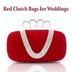 22 hot #Red Clutch #Bags for #Weddings