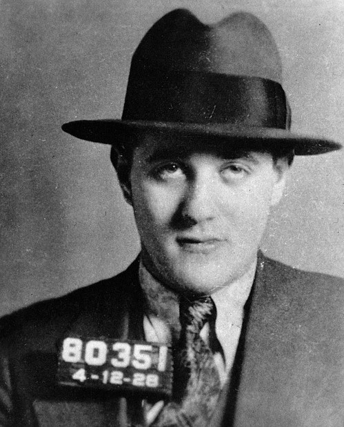 Benjamin 'Bugsy' Siegel, D.O.B. Feb 28, 1906-June 20, 1947  Early on making his money bootlegging during prohibition, he then moved to California to develop crime syndicates involved in gambling and the numbers racket. Notable mob hits include mob boss Joe Masseria. Death: Bugsy's death is an unsolved mystery, he was shot in the face with a .30 caliber military M1 rifle while sitting in his house.