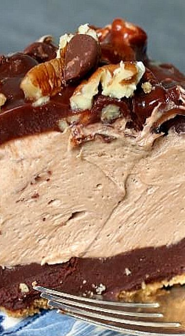 Texas Flood Pie - a little like Mississippi Mud Pie but much bigger and much better! ❊
