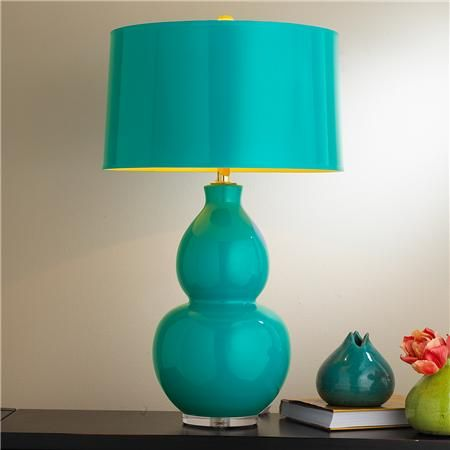 Pop Color Modern Ceramic Table Lamp - 7 colors!