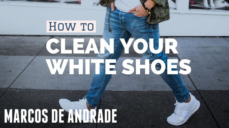 I am a shoe clean freak. I literally can NOT wear a shoe if its dirty. That's why I want to show you how to clean your white shoes (which are the hardest to clean). Rule Number one is, clean as you wear them: If you make it a habit to always clean your white