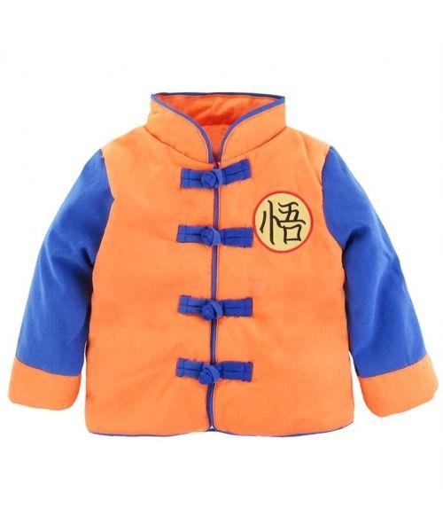 2d9cbeb2eaf Chaqueta de Invierno Niño Dragon Ball   moda   Chaquetas de invierno ...