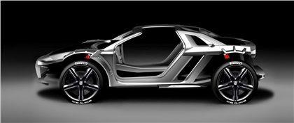 Audi Nanuk quattro (ItalDesign), 2013 - Space Frame