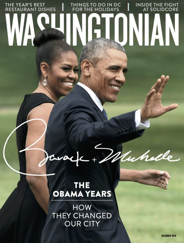 The Cover of Washingtonian