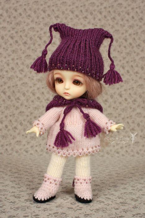 Doll outfit set for PukiFee, Lati Yellow, BJD. $30,00, via Etsy.