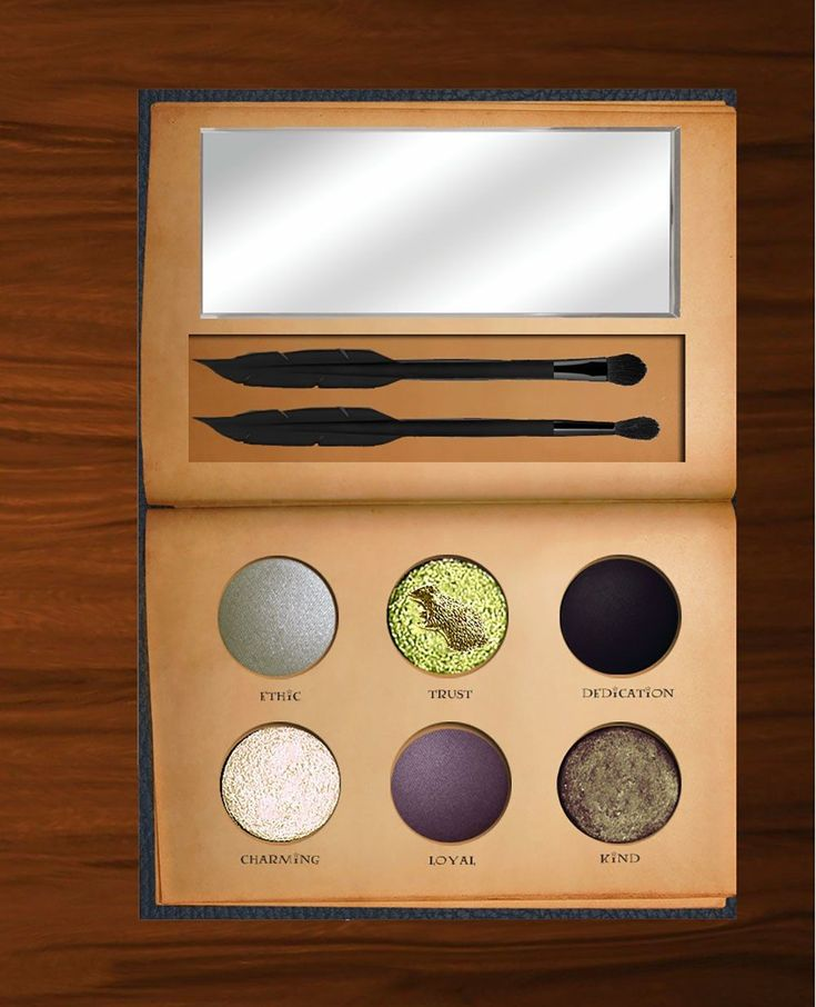 You Have to See These Harry Potter-Themed Makeup Palettes #makeupgifts