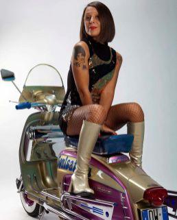 Scooter Girl Vespas 145
