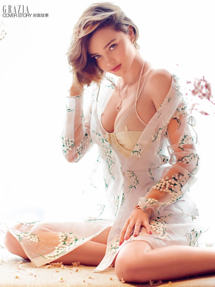 L o v e P r e t t y T h i n g s • Miranda Kerr by Chen Man for Grazia China April...