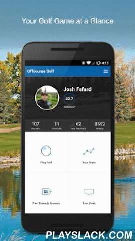 Golf GPS & Scorecard  Android App - playslack.com ,  Totally Free Golf scorecard, stats tracker, and GPS rangefinder all in one easy app. Offcourse Golf is the one app you need to download now to help you keep track of your golf scores, lower your handicap, and have more fun. - Thousands of courses world wide - Easy and simple score keeping- Keeps track of all your important stats - Track all the details of your round, just the hole by hole score, or just the final total- Free GPS Range…