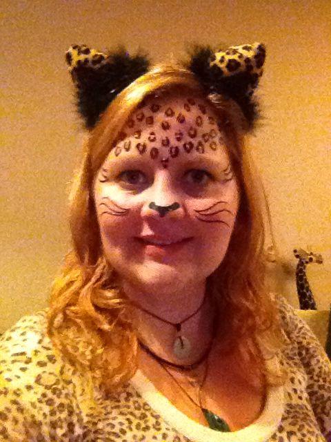 Kitty cat Halloween fancy dress