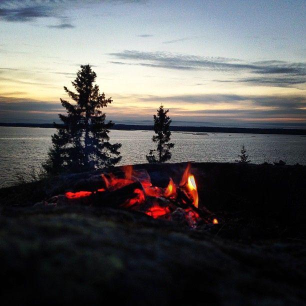 Midsummers night - Umeå, Västerbotten County | Sweden