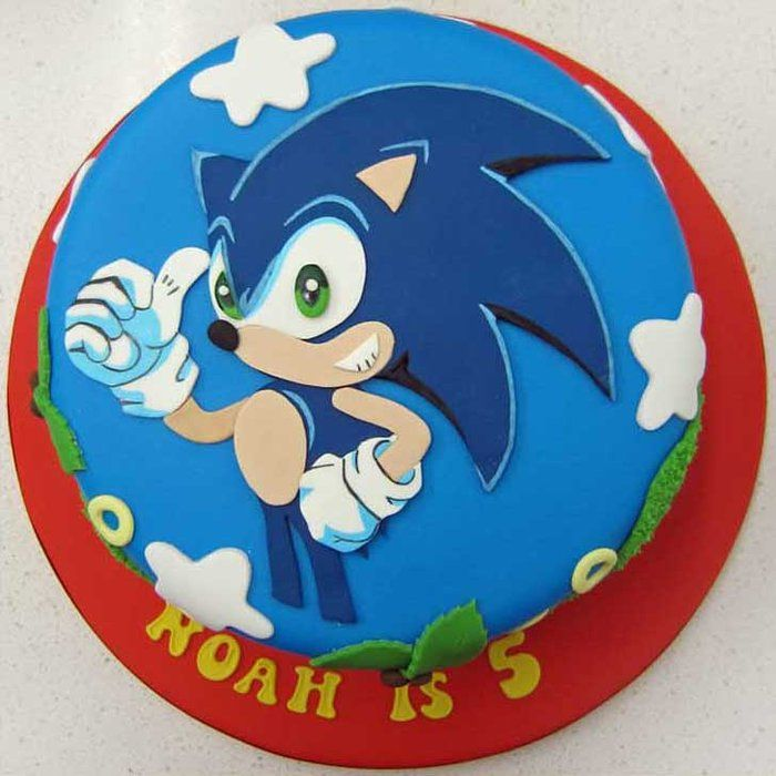 Sonic The Hedgehog Cake By Sweetlou CakesDecorcom